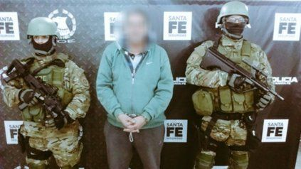 Gustavo Ramos. Un hombre que ya cumplió condena por narcotráfico.