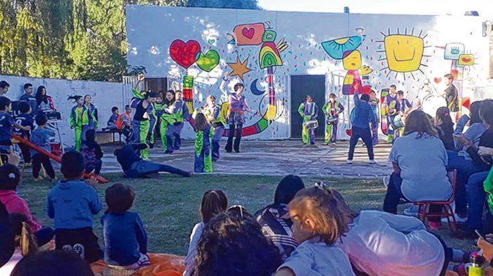 En los barrios. Las actividades de Aldeas Infantiles se desarrollan en La Boca y La Cerámica con dos centros para los niños.