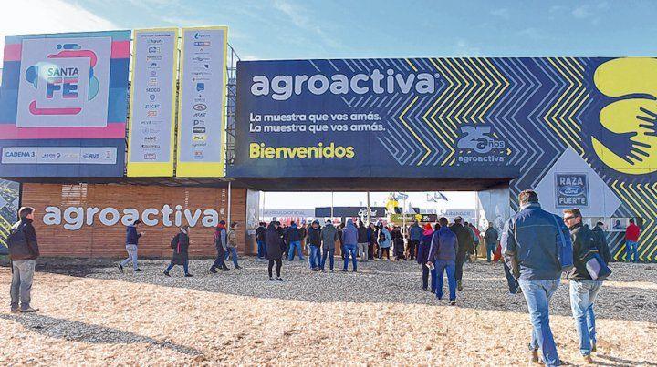 Agroactiva mostró una gran variedad de maquinaria en exposición