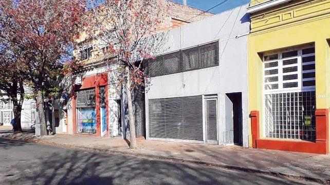 Barrio del Abasto. En una casa de San Martín al 2000 fue apresado el imprentero que estaría ligado a la banda.