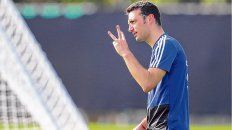 Con tres. Scaloni no definió el equipo, pero no hay dudas de que volverá a juntar a Messi, Agüero y Lautaro Martínez.