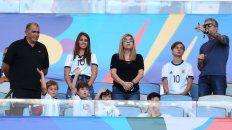 La familia Messi volvió a ser blanco de todas las miradas, gracias a las ocurrencias de Mateo.