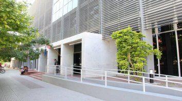Los tribunales de Rafaela, donde se llevó a cabo la audiencia (Foto de archivo).