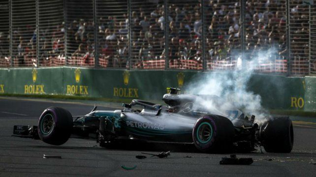 Despiste espectacular de Bottas en la Fórmula Uno