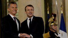 Macri se reunió con Macron y en la charla se mostró muy crítico con el funcionamiento de la selección.