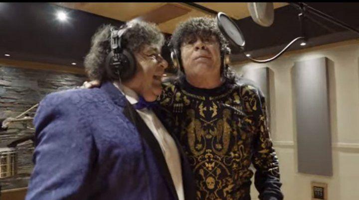 Los Palmeras grabaron El Parrandero junto a La Mona Jiménez