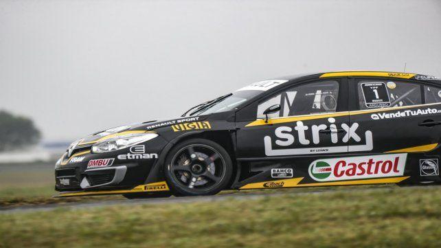 En la súper clasificación el piloto de Las Parejas no aceleró