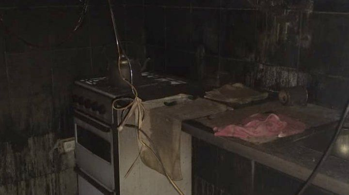 Importantes pérdidas al incendiarse un jardín de infantes