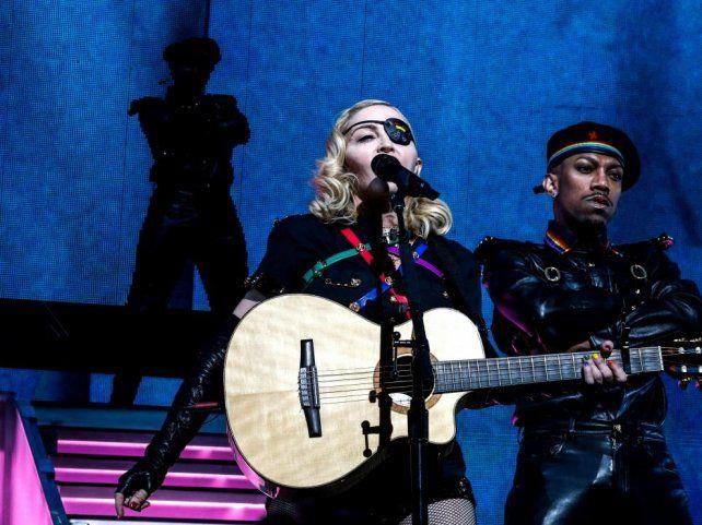 Madonna cerró los festejos por el orgullo LGTB en Nueva York