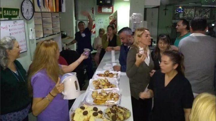 Escándalo: armaron una fiesta de despedida en Pami II a metros de terapia intensiva