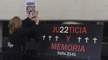 Reclamo permanente. Los familiares de las víctimas de la explosión siguieron de cerca todas las audiencias del juicio oral y público.