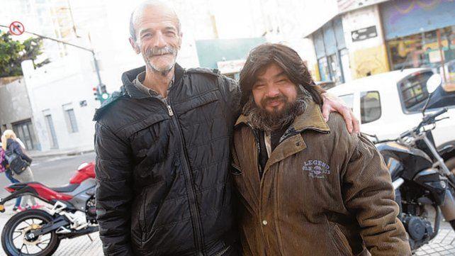 Amigos. Alejandro y Ramón se conocen desde hace muchos años.