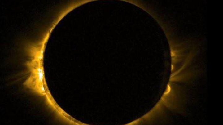 Cuáles son los planetas y las estrellas que se verán durante el eclipse solar