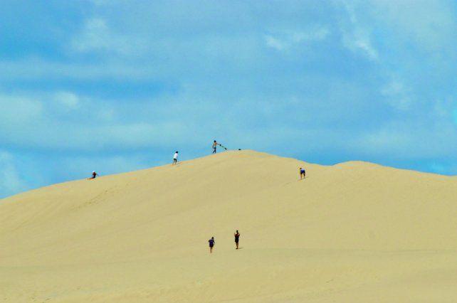 Las playas de Valizas.