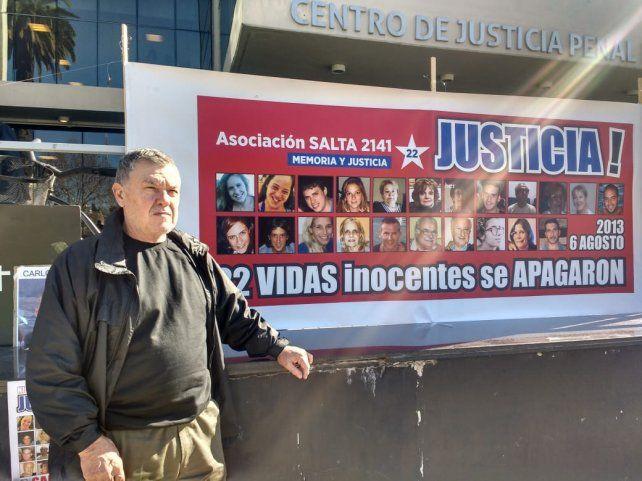 Fein y Alberto Perassi sumaron su apoyo a los familiares de las víctimas