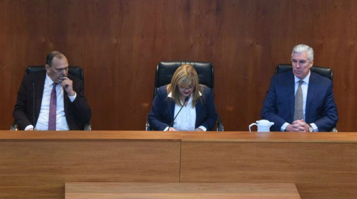 El tribunal integrado por los jueces Marcela Canavesio