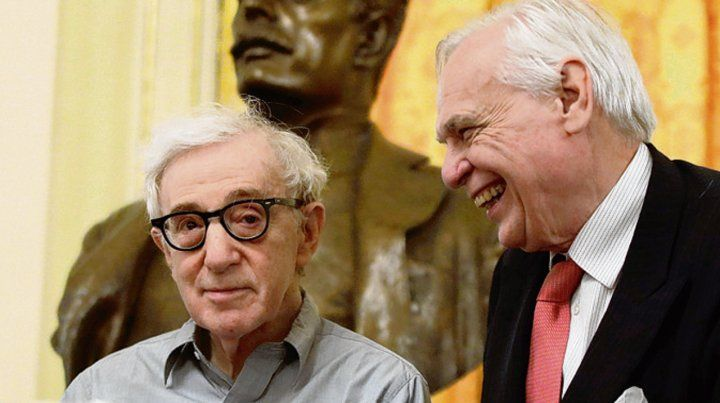 Ovacionado. Woody Allen fue recibido con aplausos en Milán