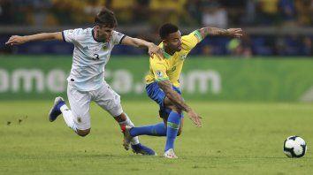 tagliafico aseguro que la derrota con brasil duele muchisimo