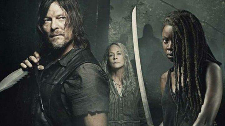 Tres protagonistas. Daryl