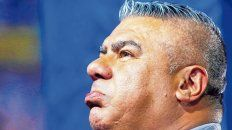 El jefe. Chiqui Tapia se mostró muy molesto por el arbitraje del ecuatoriano Wilson Seneme.