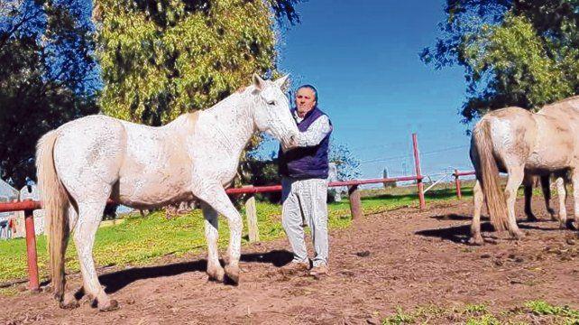 Pachanga, un hombre de a caballo