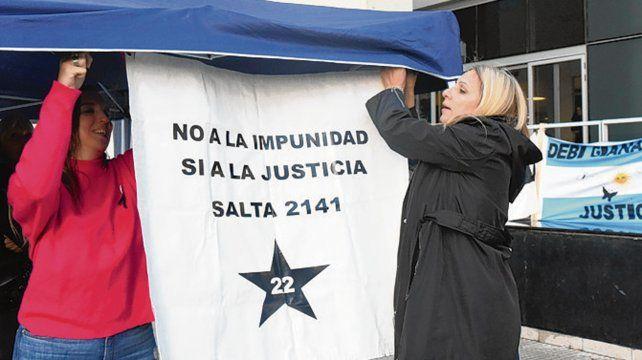 Reclamo. Los familiares de las víctimas seguirán exigiendo Justicia.