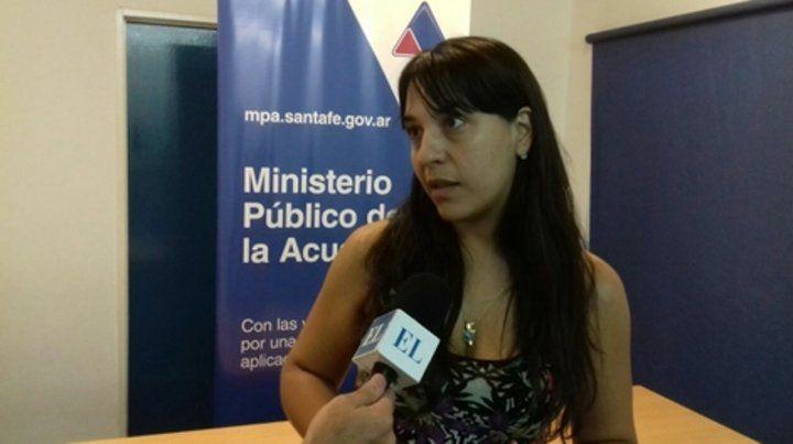 Acusación. La fiscal Del Río Ayala imputó a las dos personas.