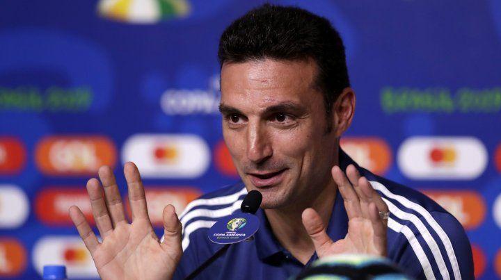 El director técnico Lionel Scaloni confirmó su continuidad al frente del seleccionado nacional.