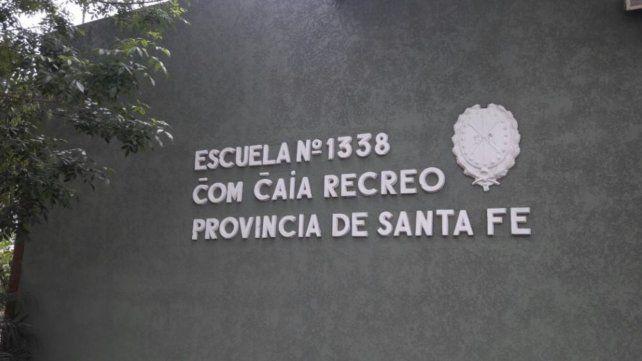 Alumno. Diego asistía a la escuela bilingüe de Recreo