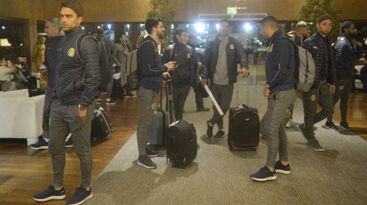 Central ya hizo base en Asunción a la espera del partido con Olimpia
