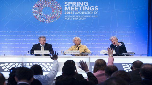 David Lipton. el sucesor de Christine Lagarde