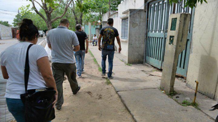 Riobamba al 4500. El lugar donde asesinaron a Pablo Ezequiel Domingo.