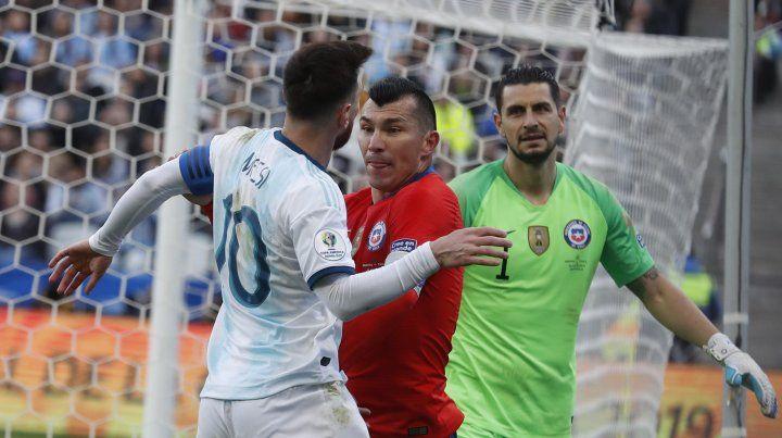 Agentina le ganó a Chile con juego y actitud