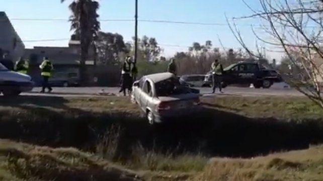 Un motociclista murió al chocar contra un auto sobre la ruta 9 en Funes