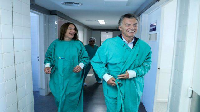 Operación paso. Vidal y Macri
