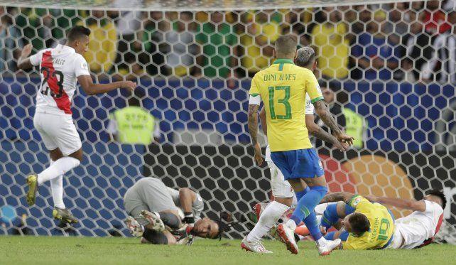El polémico penal que le aseguró el título a Brasil