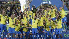 brasil sumo otra copa america y achica la distancia con argentina y uruguay