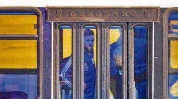 Rostro adusto. Messi arribó a Rosario con la decepción de no haber llegado a la final de la Copa América.