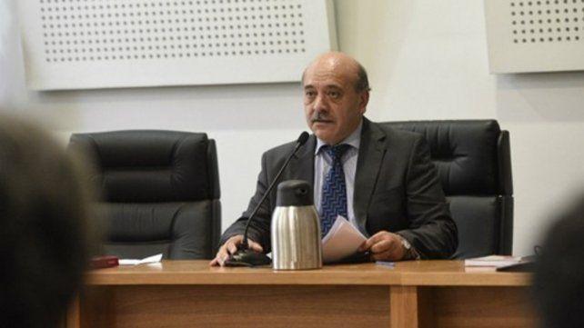 Juez. Daniel Acosta revocó la libertad de Walter Cichero