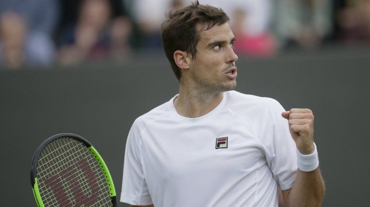 Pella, el séptimo argentino acceder a cuartos en Wimbledon