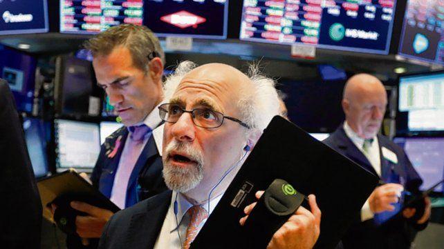 Agitado. Así estuvo ayer Wall Street