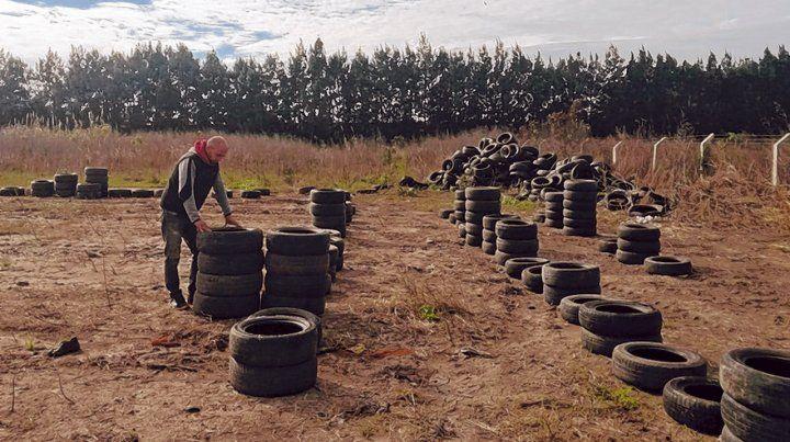 Impacto. La iniciativa busca reducir las consecuencias que los neumáticos generan en el ambiente.
