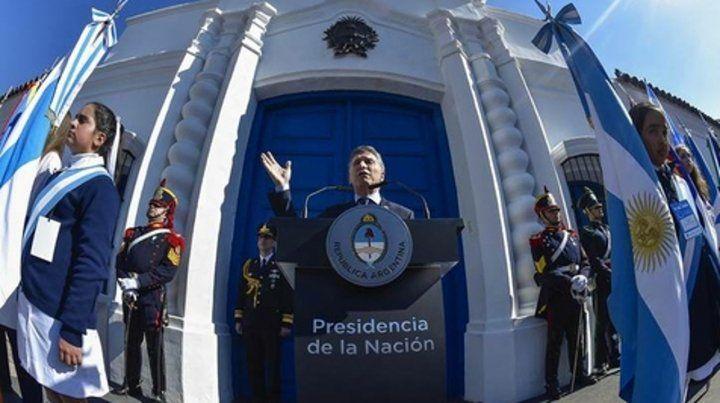 Casa de Tucumán. Macri hablará al país desde el sitio histórico.