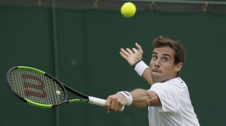Pella juega el partido más importante de su carrera en Wimbledon
