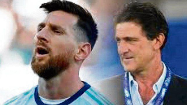 Aguante para Messi. El Matador dijo que él hubiera actuado igual que el rosarino.
