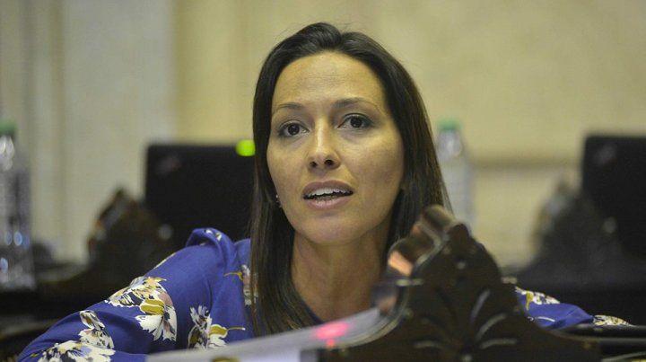 La diputada nacional por Unidad Ciudadana Mayra Mendoza.