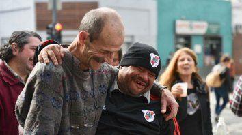 Alejandro Novillo (izquierda), a quien Ramón considera su gran amigo.