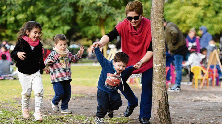 Para Ana Bloj es vital la transmisión del juego entre generaciones.