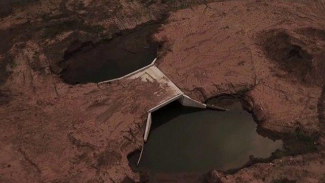 Derivación. La cuenca volcará los excedentes hacia el río Carcarañá.