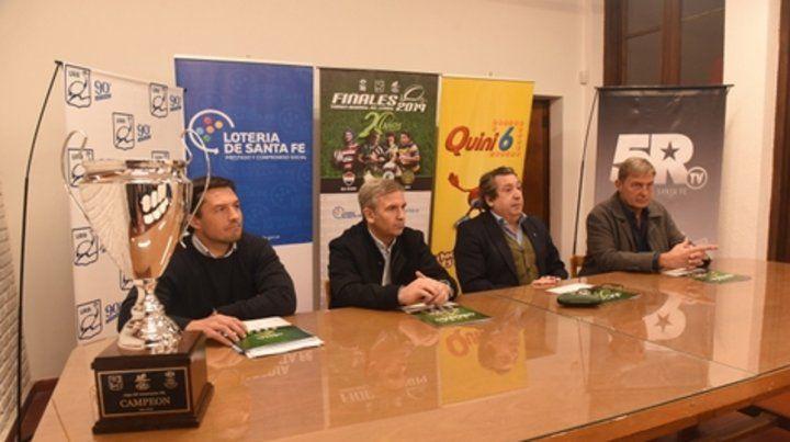 Conferencia de prensa. Se presentó ayer el torneo la Unión de Rugby Rosario (URR).